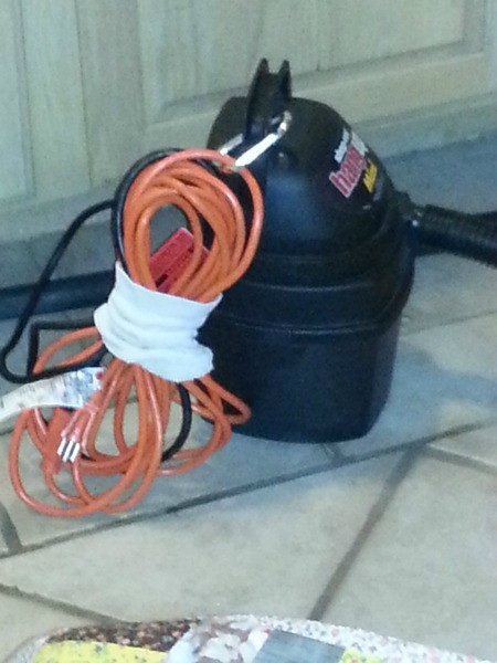 Use a Tube Sock to Bind Your Extension Cord