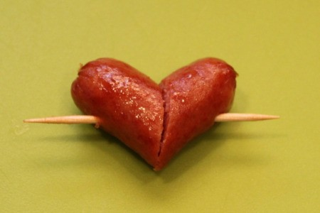 toothpick in heart