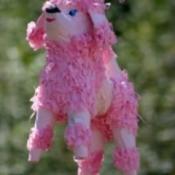 Pink Dog Piñata