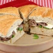 Baked Roast Beef Sandwichs