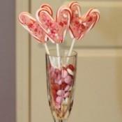 lollipop arrangement