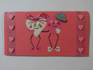 Finished card.