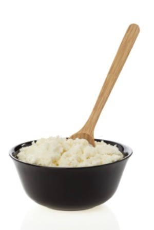 Cottage cheese, used to make a weight watchers danish.