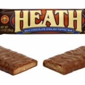 Photo of two Heath Bars.
