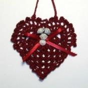 Granny Square Heart