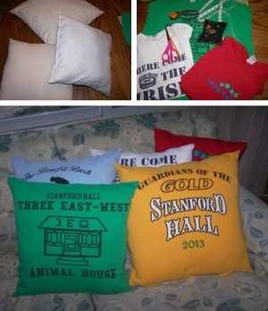 Making T-Shirt Pillows