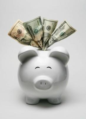 Piggy Bank Full of Money