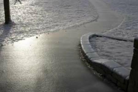 Removing Ice On Sidewalks And Driveways Thriftyfun