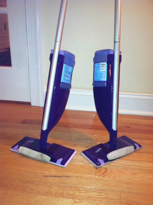 two wet jet mops - Swiffer Mop