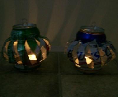 Finished lanterns.