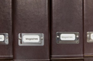 Magazine Storage Containers