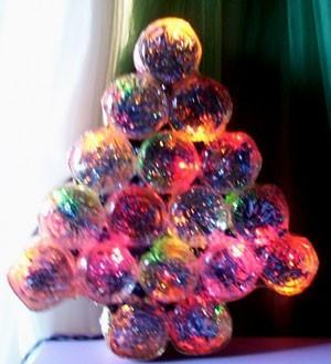 Food jar tree.
