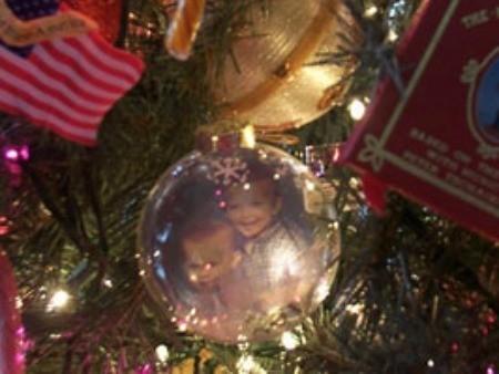 Photo Christmas ornament.