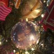 Photo Christmas ornament.