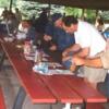 Guys at Picnic Table
