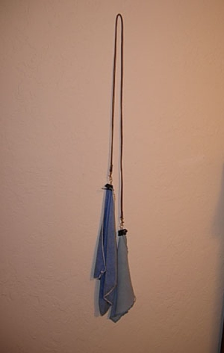 duster on a string