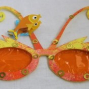 Sea-Life Sunglasses - kids decorated sunglasses