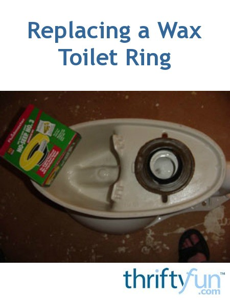 Replacing A Wax Toilet Ring Thriftyfun