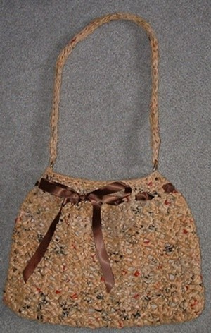 recycled bag purse