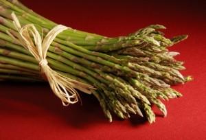 Bunch of asparagus.