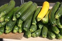 stack of zucchini