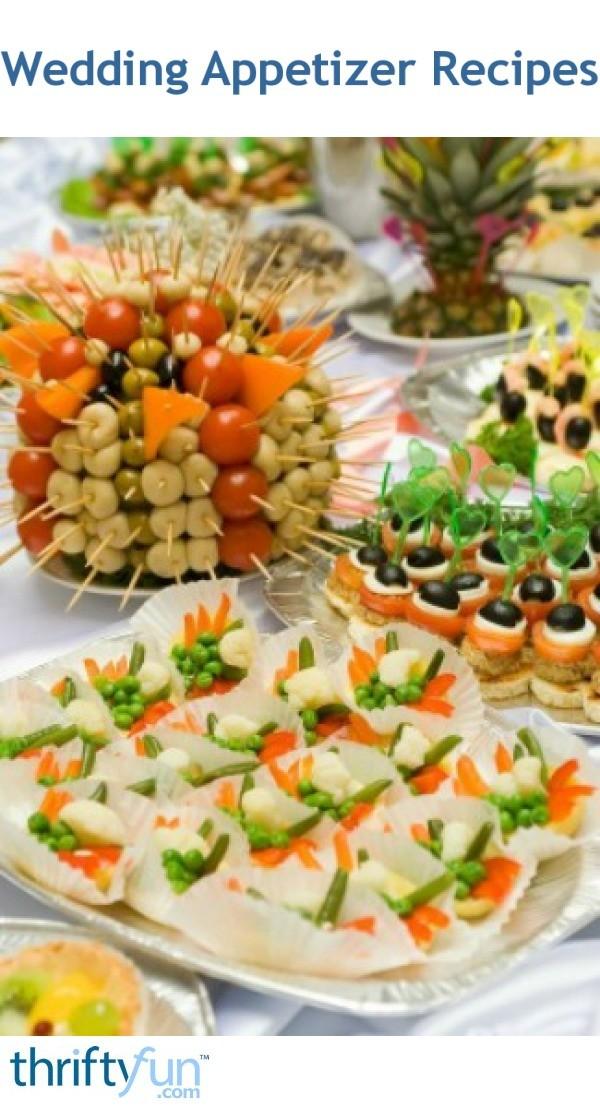 Wedding Appetizer Recipes | ThriftyFun