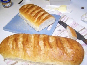 French Bread baked