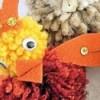 Cute Pompom Chick - Closeup.