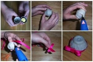 Egg Carton Easter Eggs
