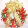 Holiday Candy Wreath