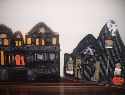 Haunted House Frames