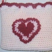 Crocheted Valentine Purse
