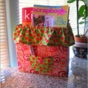 Recycled Laundry Detergent Boxes for Storage