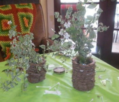 Making A Recycled Cardboard Vase Thriftyfun