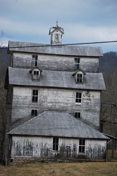 An old plantation building in Virginia.
