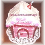 Valentine Cookie House