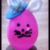 Plastic Egg Bunny Treasure