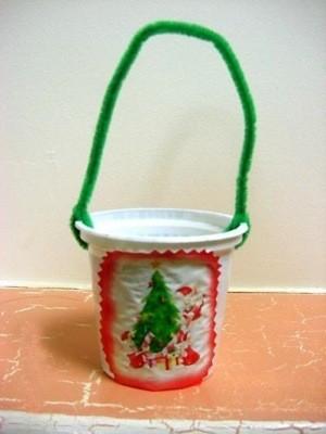 Christmas Tree Treat Cups