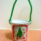 Christmas Tree Treat Cups