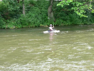 Kayaking the Natahala