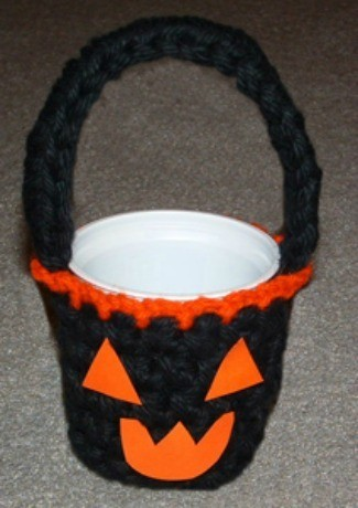 Recycled Halloween Treat Cup