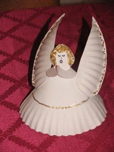 Angels Can Be Used As Place Settings For A Festive Meal Or Cover Small Plate Of Goodies To Give Away