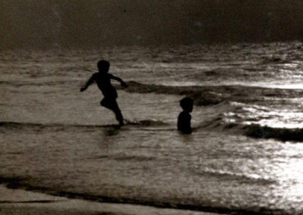 Children in water.