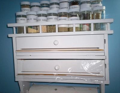Custom Spice Rack