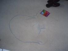 Oil Pastels On Carpet