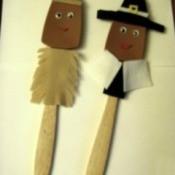 Indian and Pilgrim
