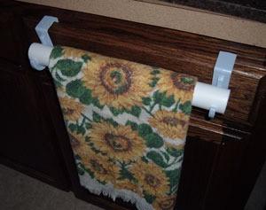 Kitchen Towel Rack