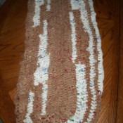 Crocheted Plarn Rug