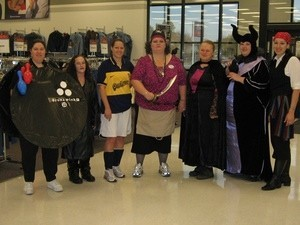 group in costumes