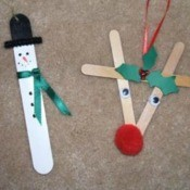 Craft Stick Ornaments